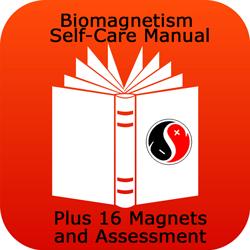 Biomagnetism Self-Care Manual + Full Set of Magnets+ Assessment Protocol